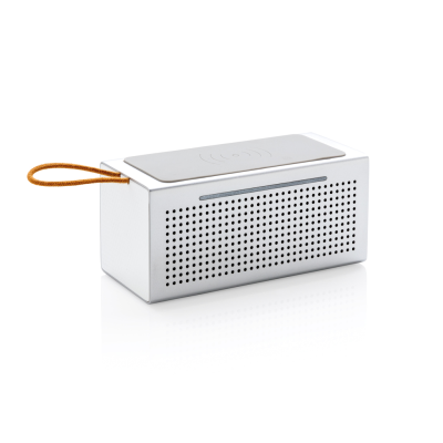 Picture of VIBE CORDLESS CHARGER SPEAKER in Grey