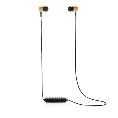 Picture of BAMBOO CORDLESS EARBUDS in Brown