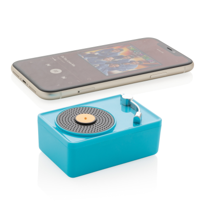 Picture of MINI VINTAGE 3W CORDLESS SPEAKER in Blue