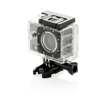 Picture of SWISS PEAK ACTION CAMERA SET in Grey