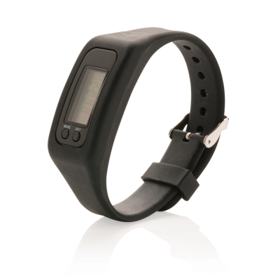 Picture of PEDOMETER BRACELET in Black