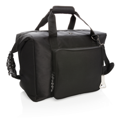 Picture of SWISS PEAK XXL COOLER TOTE & DUFFLE in Black