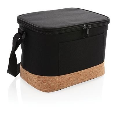 Picture of TWO TONE COOL BAG with Cork Detail