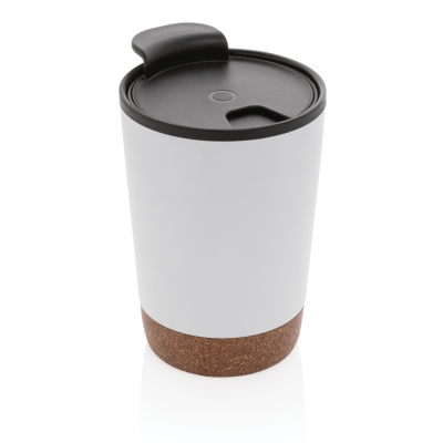Picture of CORK COFFEE TUMBLER in White