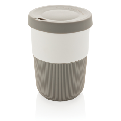 PLA CUP COFFEE TO GO 380ML in Grey | Reach Creative Branding