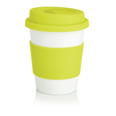 ECO PLA COFFEE CUP in Lime Green | Reach Creative Branding