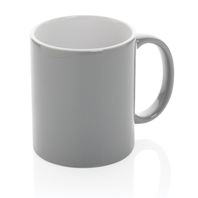 Picture of CERAMIC POTTERY CLASSIC MUG in Grey