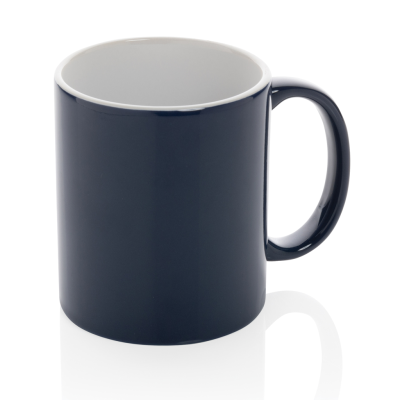 Picture of CERAMIC POTTERY CLASSIC MUG in Navy