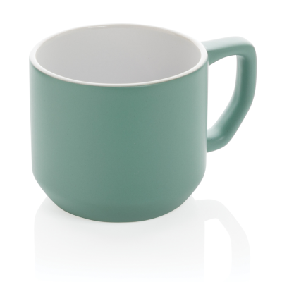 Picture of CERAMIC POTTERY MODERN MUG in Green