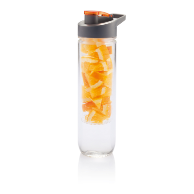 Picture of WATER BOTTLE with Infuser in Orange