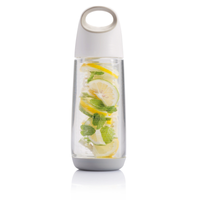 Picture of BOPP FRUIT INFUSER BOTTLE in White & Grey