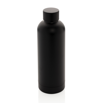 Picture of IMPACT STAINLESS STEEL METAL VACUUM BOTTLE in Black