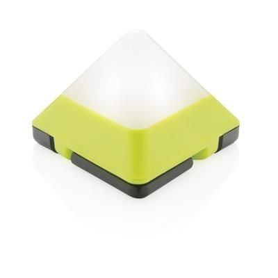 Picture of TRIANGULAR MINI LANTERN in Lime Green