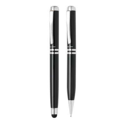 Picture of SWISS PEAK EXECUTIVE PEN SET in Black
