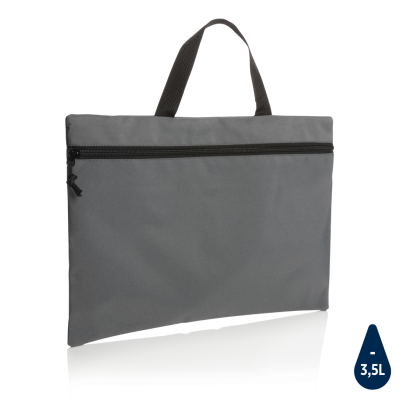 Picture of IMPACT AWARE™ LIGHTWEIGHT DOCUMENT BAG in Anthracite