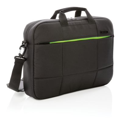 Picture of SOHO BUSINESS RPET 15,6 INCH LAPTOP BAG PVC FREE in Black