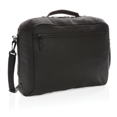 Picture of FASHION BLACK 15,6 INCH LAPTOP BAG PVC FREE in Black