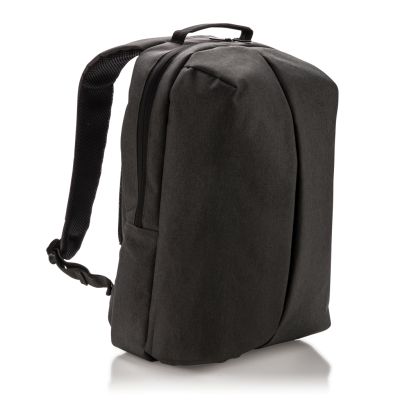Picture of SMART OFFICE & SPORTS BACKPACK RUCKSACK in Black