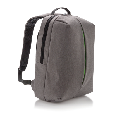 Picture of SMART OFFICE & SPORTS BACKPACK RUCKSACK in Grey
