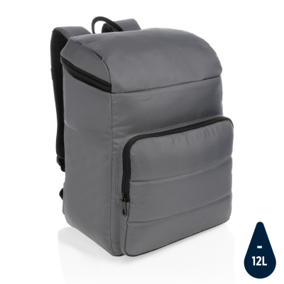 Picture of IMPACT AWARE™ RPET COOLER BACKPACK RUCKSACK in Anthracite Grey