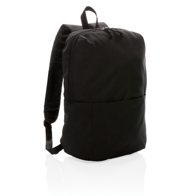 Picture of CASUAL BACKPACK RUCKSACK PVC FREE in Black