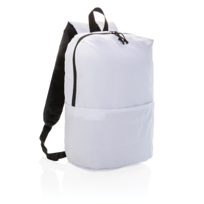 Picture of CASUAL BACKPACK RUCKSACK PVC FREE in White