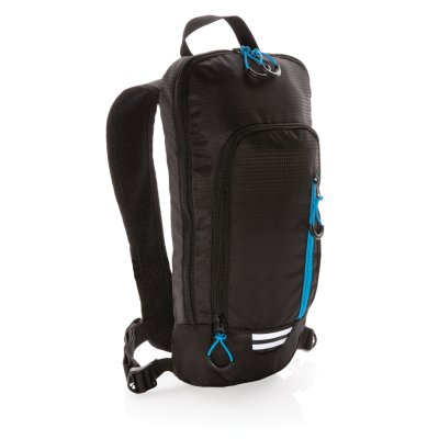 Picture of EXPLORER RIBSTOP SMALL HIKING BACKPACK RUCKSACK 7L PVC FREE in Black