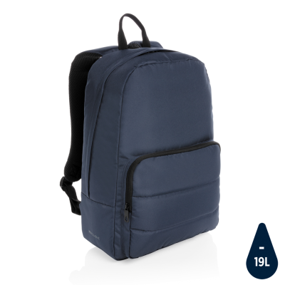 Picture of IMPACT AWARE™ RPET BASIC 15,6 INCH LAPTOP BACKPACK RUCKSACK in Navy