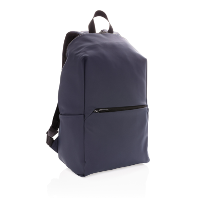 Picture of SMOOTH PU 15,6 INCH LAPACK RUCKSACK in Navy