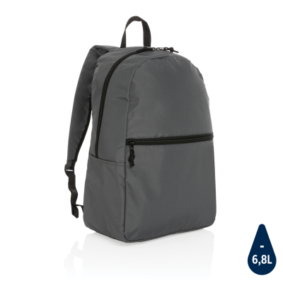 Picture of IMPACT AWARE™ RPET LIGHTWEIGHT BACKPACK RUCKSACK in Anthracite