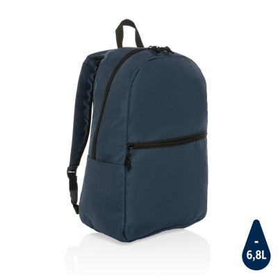 Picture of IMPACT AWARE™ RPET LIGHTWEIGHT BACKPACK RUCKSACK in Navy