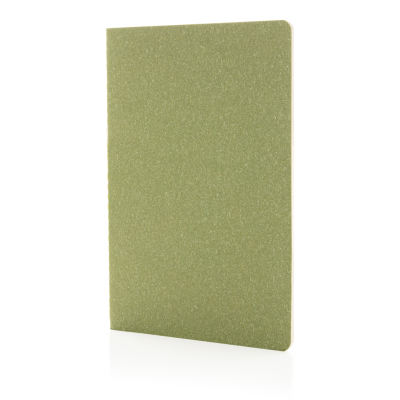 Picture of A5 STANDARD SOFTCOVER SLIM NOTE BOOK in Green