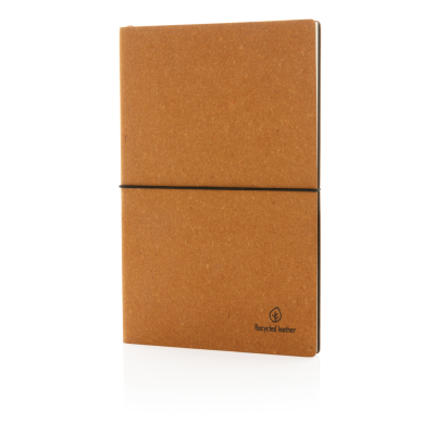Picture of A5 BONDED LEATHER NOTE BOOK in Brown