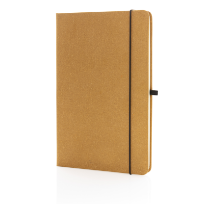 Picture of BONDED LEATHER HARDCOVER NOTE BOOK A5 in Brown