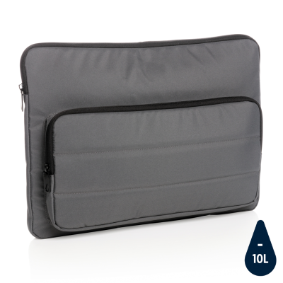 Picture of IMPACT AWARE™ RPET 15,6 INCH LAPTOP SLEEVE in Anthracite Grey