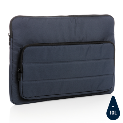 Picture of IMPACT AWARE™ RPET 15,6 INCH LAPTOP SLEEVE in Navy