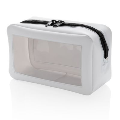 Picture of CLEAR TRANSPARENT TRAVEL CASE in White