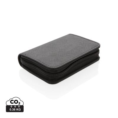 Picture of SWISS PEAK SECURE RFID MODERN CARDHOLDER in Black