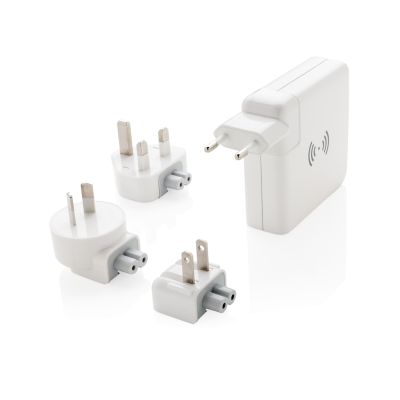 Picture of TRAVEL ADAPTER CORDLESS POWERBANK in White