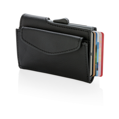 Picture of C-SECURE RFID CARDHOLDER & COIN & KEY WALLET in Black