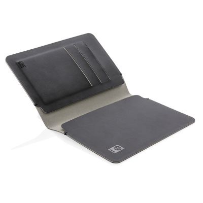 Picture of QUEBEC RFID SAFE PASSPORT HOLDER in Black