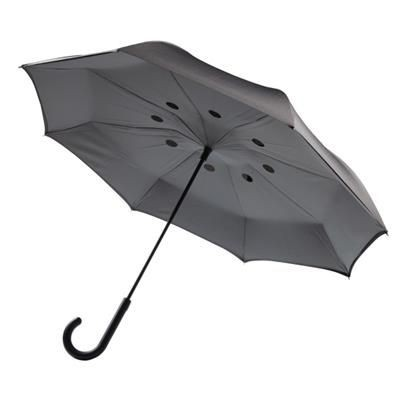 Picture of AUTO CLOSE REVERSIBLE UMBRELLA 23 INCH in Grey