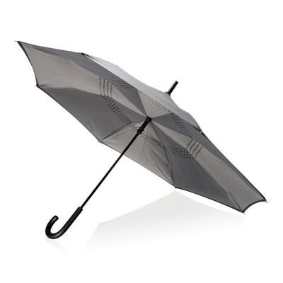 Picture of 23 INCH MANUAL REVERSIBLE UMBRELLA in Grey