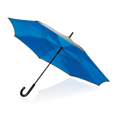 Picture of 23 INCH MANUAL REVERSIBLE UMBRELLA in Blue