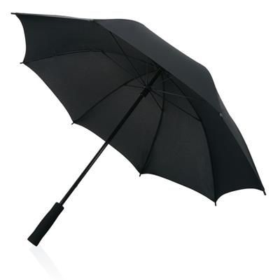 Picture of FULL FIBREGLASS 23 INCH STORM UMBRELLA in Black