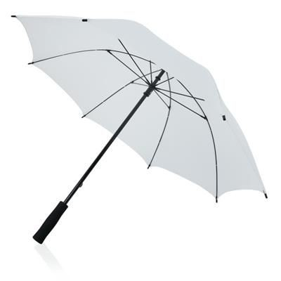 Picture of FULL FIBREGLASS 23 INCH STORM UMBRELLA in White