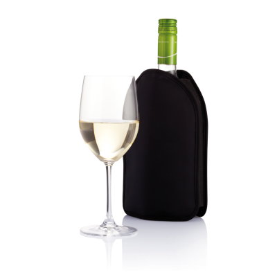 Picture of WINE BOTTLE COOLER SLEEVE in Black