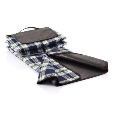 Picture of TARTAN PICNIC BLANKET in Blue