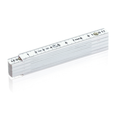 Picture of FOLDING RULER in White