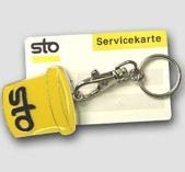 Picture of GERMAN KEY FINDER SECURITY KEYRING in Yellow
